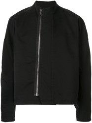 Julius Zip Up Jacket Black