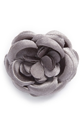 Hook Albert Floral Lapel Pin Smokey