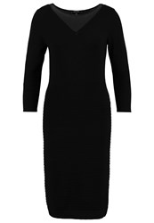 Comma Jumper Dress Black