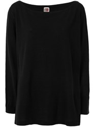 I'm Isola Marras Oversize Knitted Top Black