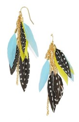 Baublebar Women's Ravyn Drop Earrings Turquoise