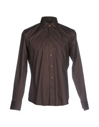 Agho Shirts Dark Brown