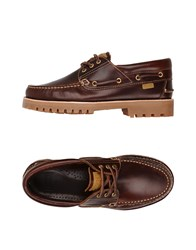 Camper Lace Up Shoes Brown