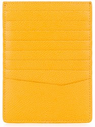 Furla Tall Cardholder Yellow And Orange