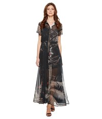 Religion Transit Sheer Maxi Dress Dusty Olive Red Clay Women's Dress Black