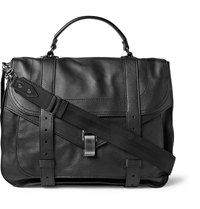 Proenza Schouler Ps1 Extra Large Leather Satchel Black