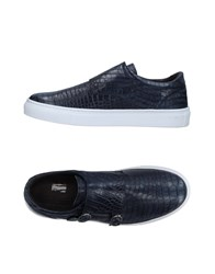 Gold Brothers Footwear Low Tops And Sneakers Dark Blue