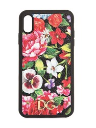 Dolce And Gabbana Floral Print Iphone Xs Max Case Multicolor