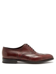 John Lobb Stowey Leather Brogues Brown