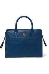 Tory Burch Brody Small Leather Tote Royal Blue