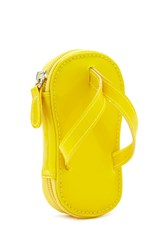 Forever 21 Flip Flop Coin Purse Yellow