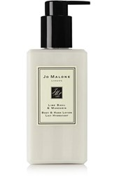 Jo Malone London Lime Basil And Mandarin Body And Hand Lotion Colorless