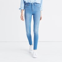 Madewell 10 High Rise Skinny Jeans In Hank Wash