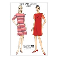 Vogue Misses' Women's Paneled Dress Sewing Pattern 9183