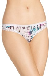 Ongossamer Women's On Gossamer Next To Nothing Hip G Mesh Thong