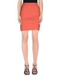 Patrizia Pepe Skirts Knee Length Skirts Women Coral