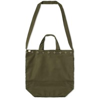 Maple Canvas Tote Bag Green