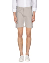 Selected Homme Trousers Bermuda Shorts Men Light Grey