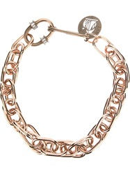 Lanvin Chunky Chain Necklace Metallic