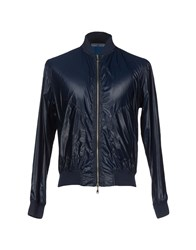 Daniele Fiesoli Coats And Jackets Jackets Men Dark Blue