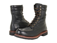 Frye Dakota Crepe Tall Black Tumbled Full Grain Men's Lace Up Boots