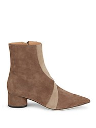 Sigerson Morrison Zero Leather Booties Tan
