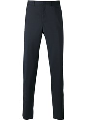 Z Zegna Tapered Trousers Blue