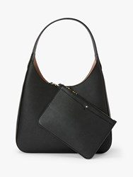 Kate Spade New York Rita Leather Medium Hobo Bag Black