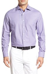 Men's Bobby Jones 'Dormie' Regular Fit Long Sleeve Plaid Sport Shirt