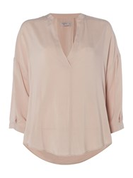 Label Lab Ellery Cocoon Top Dusty Pink