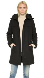 Ayr The Duffle Coat Black