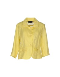 Diana Gallesi Suits And Jackets Blazers Women Yellow
