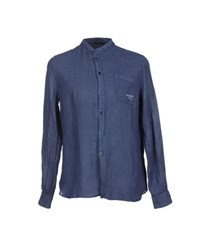Meltin Pot Shirts Shirts Men Dark Blue