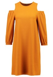 Kiomi Summer Dress Buckthorn Brown Ochre