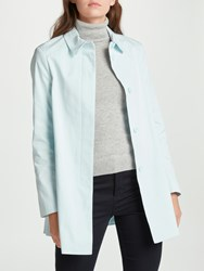 John Lewis A Line Mac Soft Blue