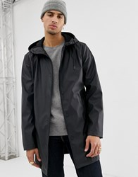 Only And Sons Rain Coat Black