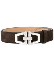 Tod's Buckled Belt Brown