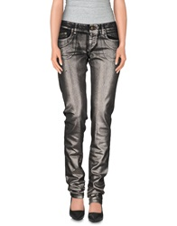 Ice Iceberg Denim Pants Black