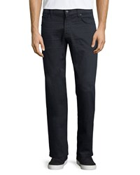 7 For All Mankind Luxe Performance Carson Equinox Denim Jeans Dark Gray Eqnx