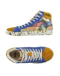 Springa Footwear High Tops And Trainers Women Blue
