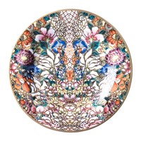 Roberto Cavalli Golden Flowers Bread Plate