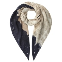 Jigsaw Earthy Print Oversized Scarf Natural