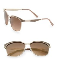 Sam Edelman 57Mm Square Sunglasses Gold