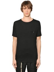 The Kooples Cotton Blend Jersey T Shirt W Skull