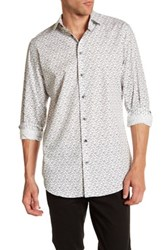 14Th And Union Spread Collar Trim Fit Shirt White