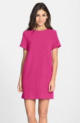 Women's Felicity And Coco Crepe Shift Dress Hot Pink