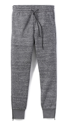 Vince Zip Leg Track Pants Dark Grey