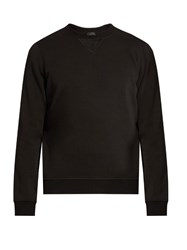 Atm Anthony Thomas Melillo Fleece Panel Cotton Sweatshirt Black
