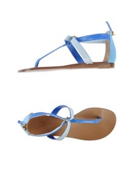 Vicini Tapeet Thong Sandals Azure