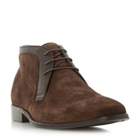 Dune Monroe Smart Lace Up Boots Brown
